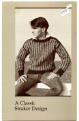 A Straker Classic Design Knitting Pattern - #866-P Rocky Road Pullover - Unisex