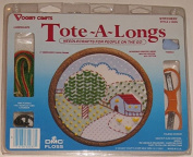 Vogart Crafts Landscape Tote-A-Long Counted Cross Stitch Kit