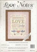 Love Notes Language of Love Cross Stitching from the Heart