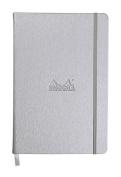 Rhodia Silver Webnotebook 3.5X5.5 Lined