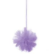 Lilac Tulle Pom-Pom Decorations