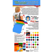 "0.9m (36"" or 91.44cm) Price for linear foot - SISER EASYWEED 15"" Heat Transfer Vinyl - Colour"