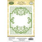 JustRite Papercraft Cling Background Stamp 11cm x 15cm -Grand Elegance