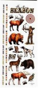 Hunting Season Stickabilities Stickers