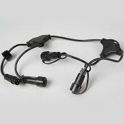 Lumineo Connectors 0.9m Black
