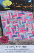 Scrappy Ever After Quilt Pattern Jelly Roll Bali Pop Friendly, Fat Quarter Friendly 5 Finished Size Options