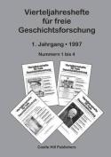 Vierteljahreshefte Fur Freie Geschichtsforschung [GER]
