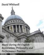 Music During the English Restoration