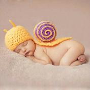 Fans Soft Handmade Crochet Cotton Newborn Photography Props Knitted Costume Set for 1-12 Months