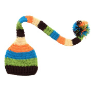 Cute Baby Infant Hand Knitted Long Ball Hat Costume Photo Photography Props