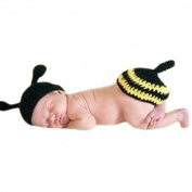 Bee Costume Baby Newborn Kids Crochet Knit Outfit Photo Props