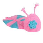 Creative Lovely Knit Crochet Minnie Clothes Photo Prop Outfits For Baby