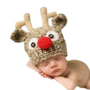 Infant Unisex Baby Crochet Hat Toddler Cap Photo Props Costume Beanie