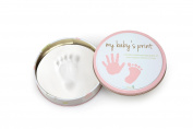 Tiny Ideas Easy to Use Handprint Tin Makers, Pink