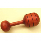 Heirloom Natural Wood Rattle - Cherry