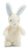 Jellycat Bobtail Blue Bunny Rattle - 13cm