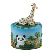 (2) Childs Trip to the Zoo Coin Banks