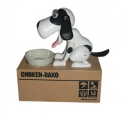 Virtuous * Piggy Bank Coin Munching Toy ,Automated Cute Dog Steal Coin Money Save Bank Box (No Batteries)
