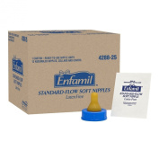 Enfamil Standard Flow Soft Nipple, Pack of 12