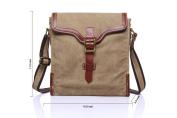 Betus Leather Satchel College Wind Shoulder Messenger Bag