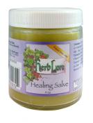 Herblore Organic Healing Salve - 120ml Jar - For Nappy Rash and Skin Irritations