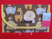 Baby Zoo Animals Nappy and Wipes Case Holder Clutch Pouch Bag