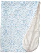 LUXE BABY Luxe Scallops Minky Blanket, Pink