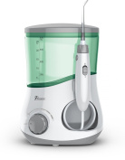 Pursonic OI-200 Professional Counter Top Oral Irrigator Water Flosser with 3 Nozzles Plus a Bonus Tongue Scraper