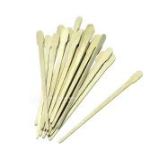 100 Small Wooden Waxing Applicator Sticks