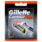 Original GILLÈTTE Contour Plus Cartridges - 10 Pack