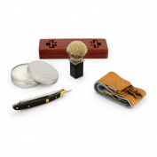 A.P. Donovan - Professional Razor 2.2cm - sandalwood handle - Complete