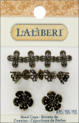 EK Success - Laliberi - Jewellery - Bead Caps - Brass Assortment