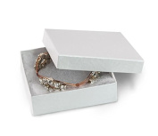 White Swirl Jewellery Box #33