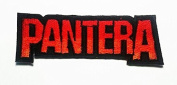 Pantera Hardcore Heavy Metal Punk Rock Band Embroidered Iron on Patches ## with Free Gift, By Jupeter