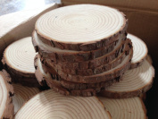 Unpainted Natural Round Blank Wood Slices