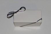 15cm Silver Stretch Loops 50ct for Candy Boxes / Jewellery Boxes