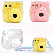 FEITONG Thin Crystal Clear PC Hard Case Cover For FujiFilm Instax Mini8 Camera