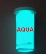 Aqua Glow-in-the-Dark Powder 30 gramme ~ Pigment