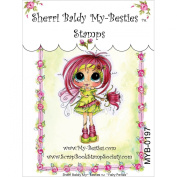 My-Besties Clear Stamps, Fairy Petal, 10cm by 15cm