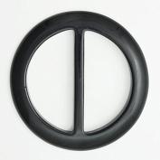 2pcs 5.1cm BLACK Round Acrylic Buckle for belt, handbag, fashion accessories, SP-2142