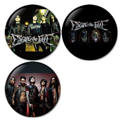 Escape The Fate #1 Pinback Buttons Badges/Pin 1.25 Inch (32mm) Set of 3 New