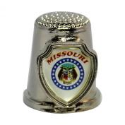 Souvenir Thimble - Missouri - MO