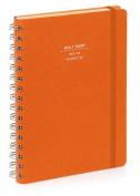 Nava 2016 Diary Daily Medium Orange