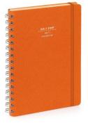 Nava 2016 Diary Daily Small Orange