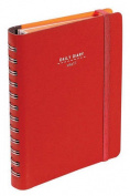 Nava 2016 Diary Daily Small Red