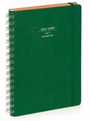 Nava 2016 Diary Daily Small Green