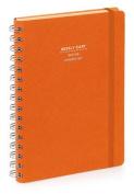 Nava 2016 Diary Weekly Medium Orange