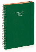 Nava 2016 Diary Weekly Medium Green