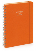 Nava 2016 Diary Weekly Small Orange