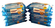 Equate Flushable Wipes 10-pack of 48 Ea. (480ct) Compare to Cottonelle